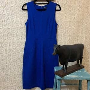 Lands' End Ponte Sheath Dress